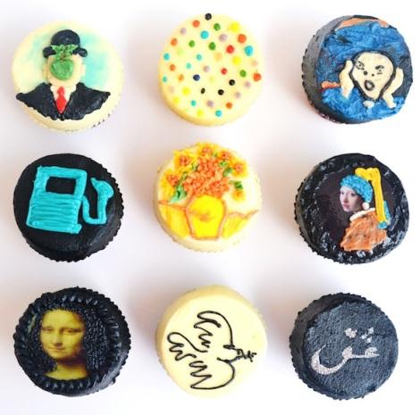 Shereen Shabnam art cakes