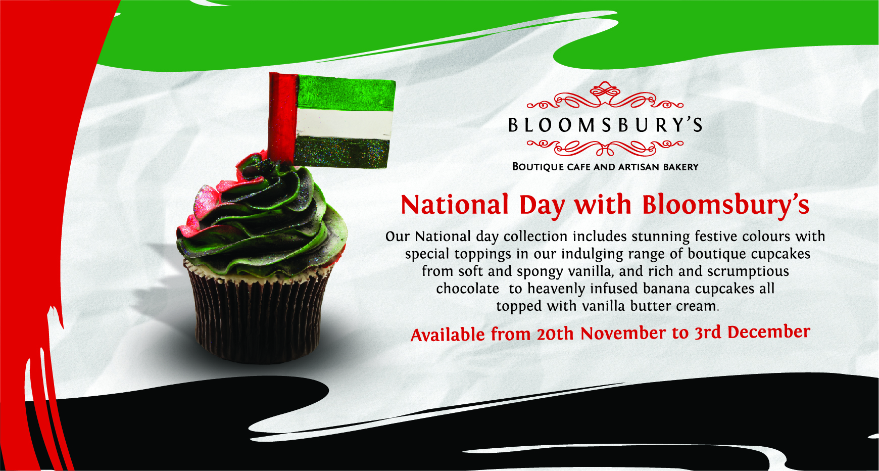 Yummyuae National Day Treats At Bloomsburys Fijianchicks Blog