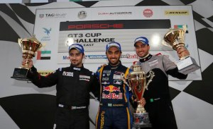 Abdulaziz AlFaisal won the opening race of Round 5