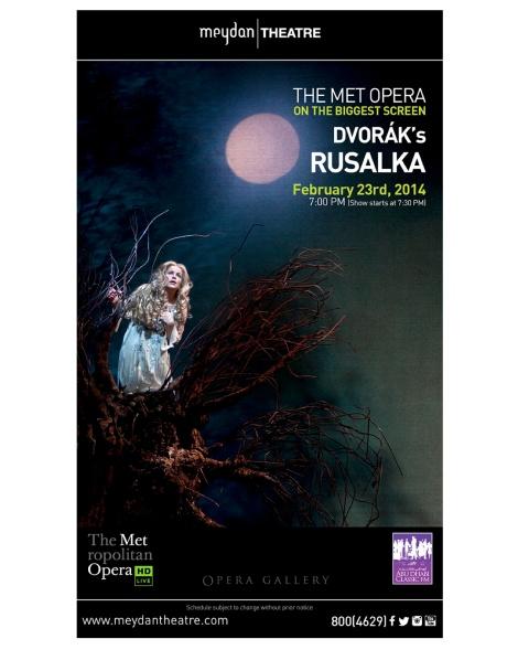 MET Opera Dvorak Rusalka