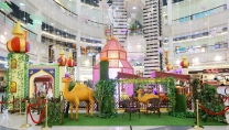 Ramadan deco at Al Wahda Mall